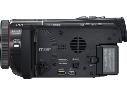 side view of Panasonic Hc-X920