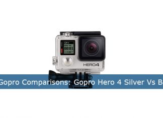 gopro hero 4 silver vs black
