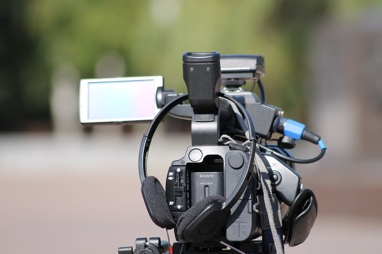 sony camcorder with accessories